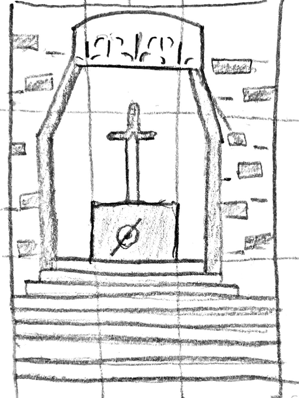Sword Shrine - image 1 - student project