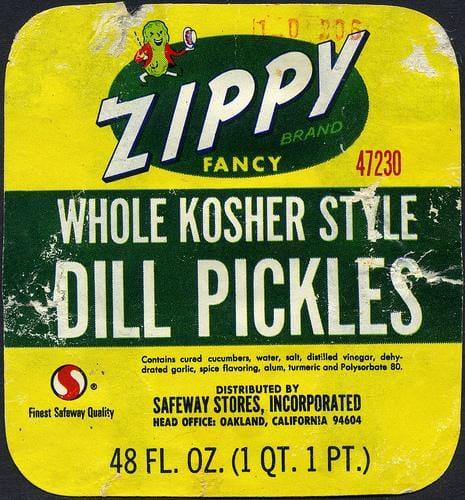 Pickel Jar Label - image 4 - student project