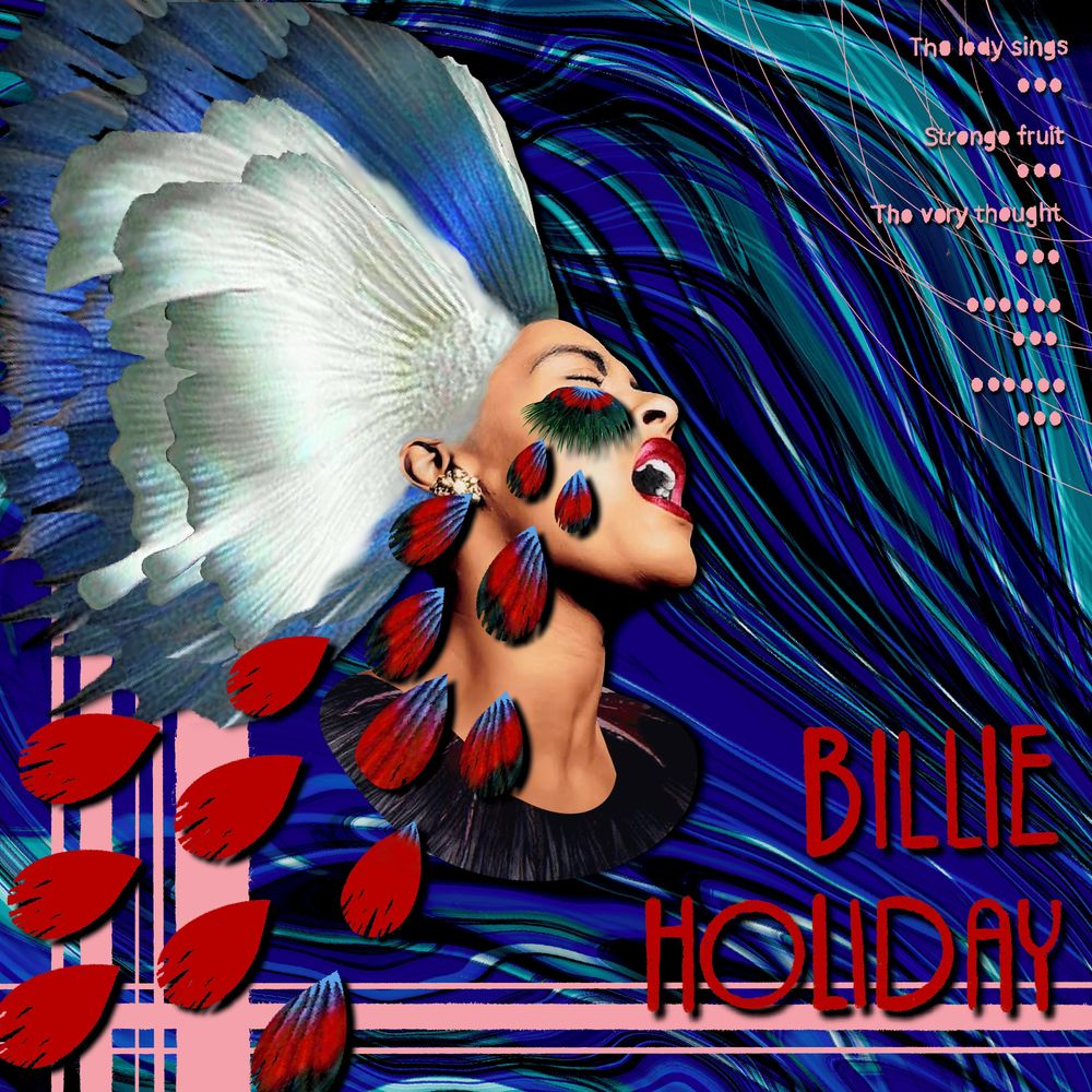 Billie Holiday - image 1 - student project