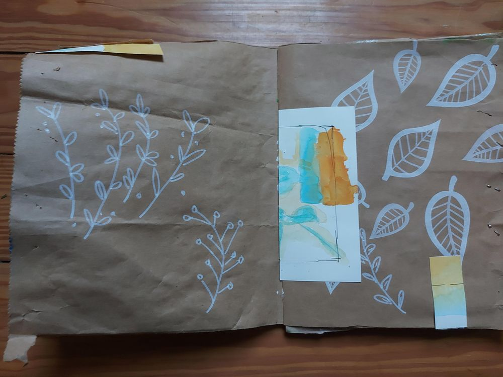 My upcycled paper bag - image 6 - student project