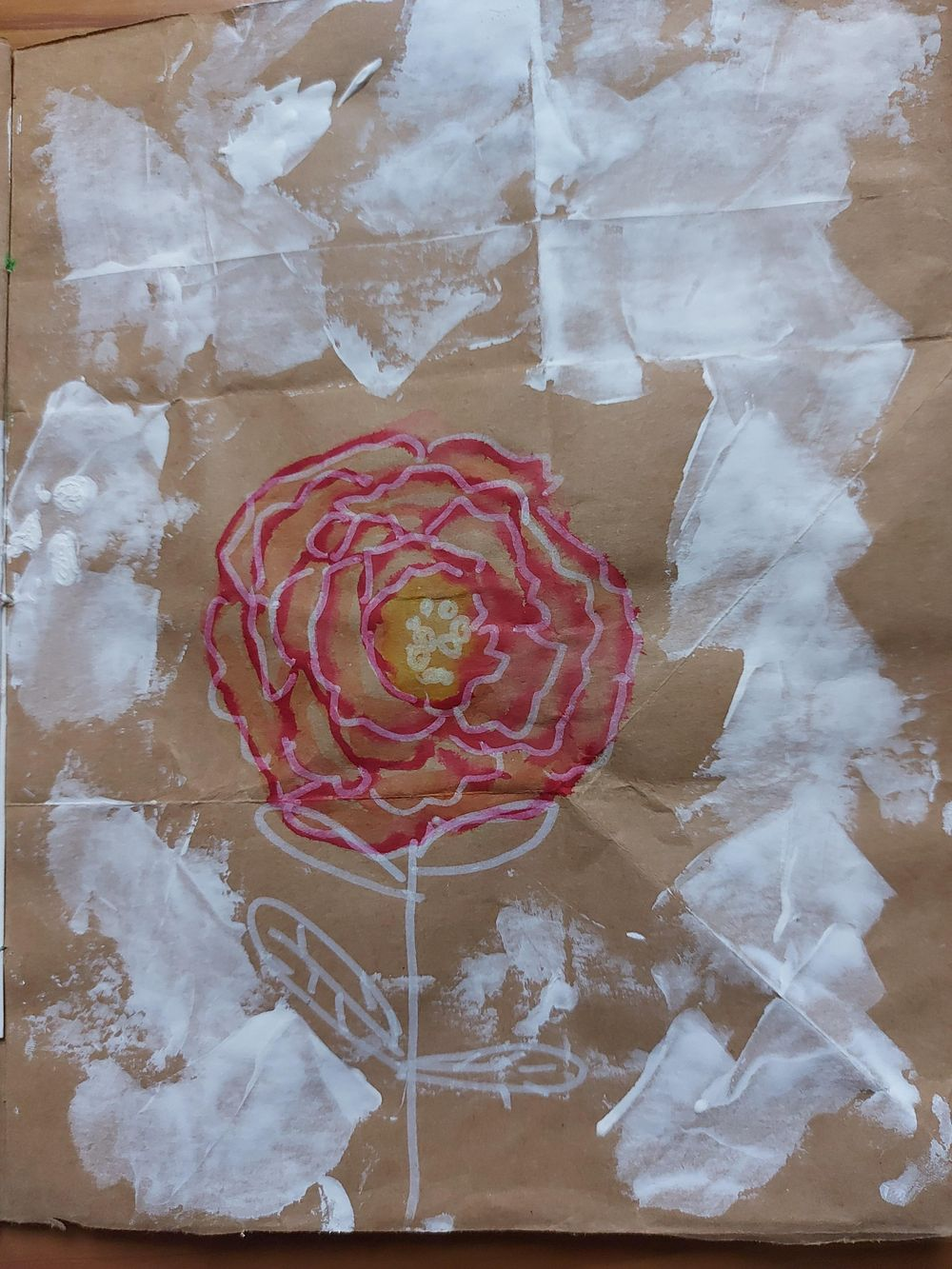 My upcycled paper bag - image 3 - student project
