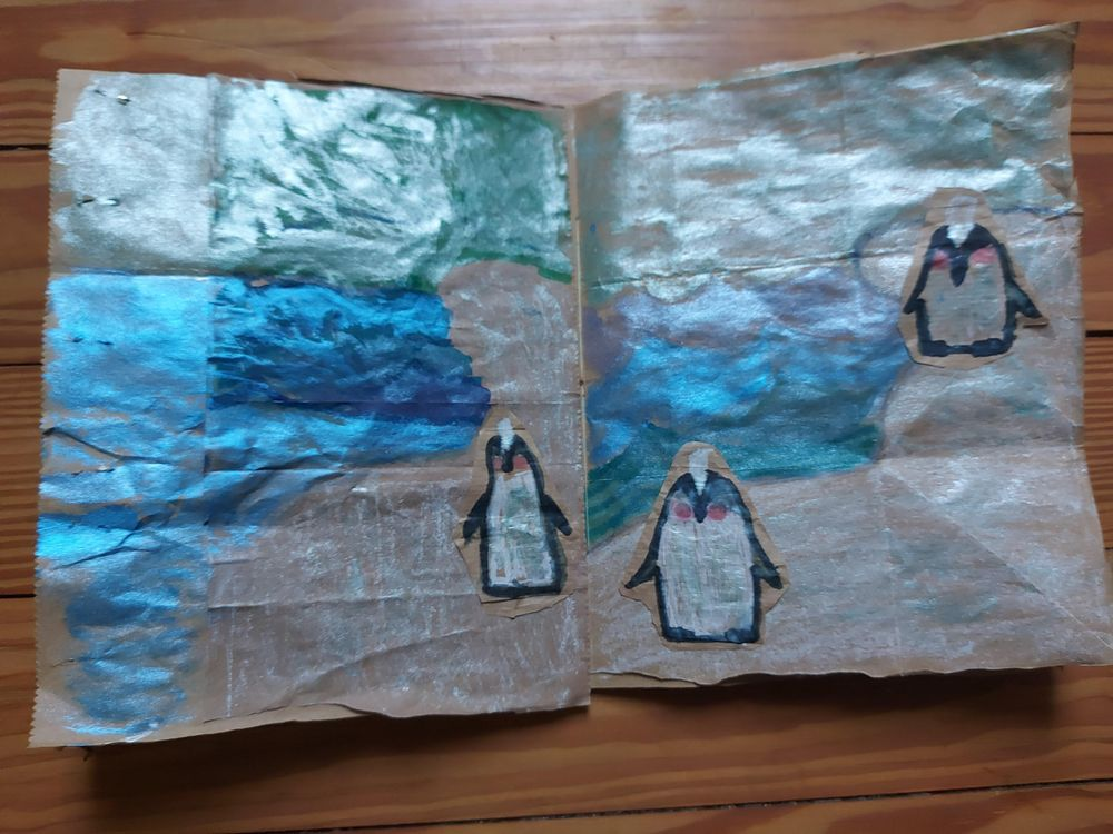 My upcycled paper bag - image 2 - student project