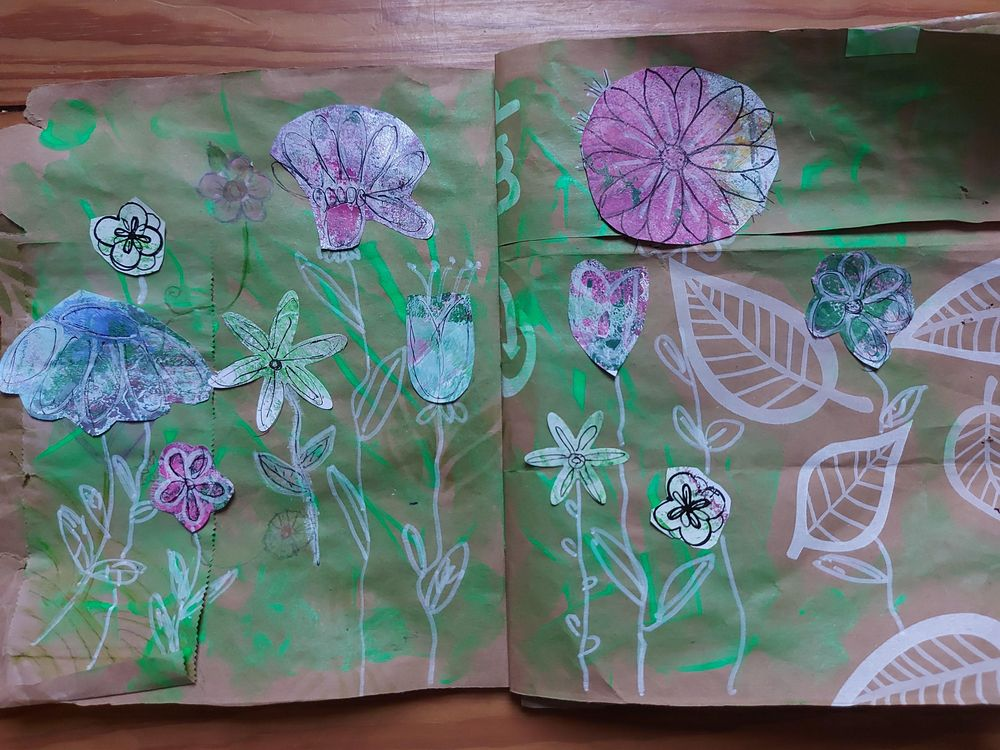 My upcycled paper bag - image 1 - student project