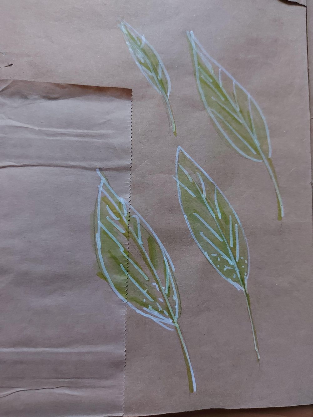 My upcycled paper bag - image 4 - student project
