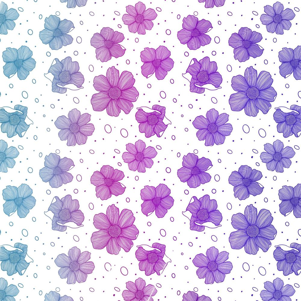 Flower pattern brush - image 2 - student project