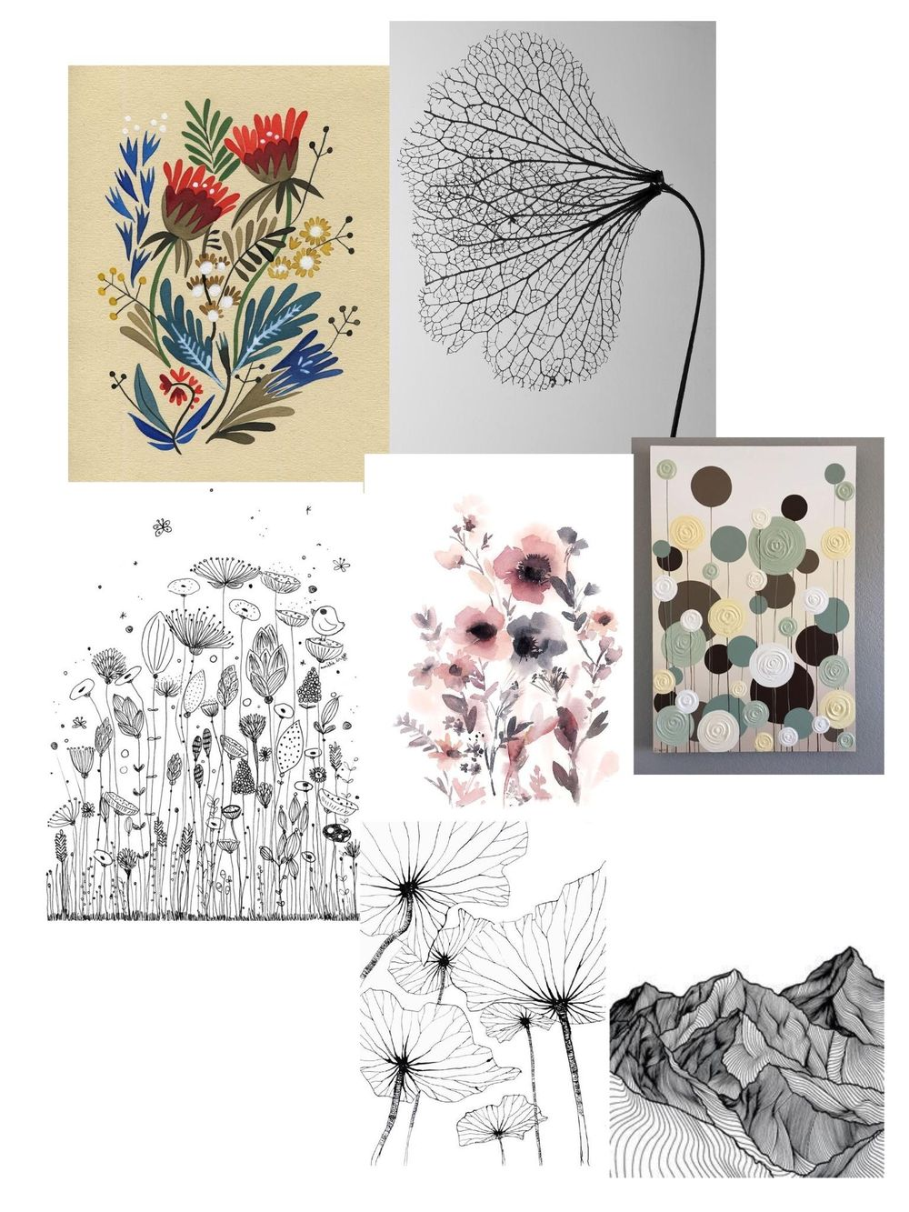 Line, color and texture. - image 1 - student project