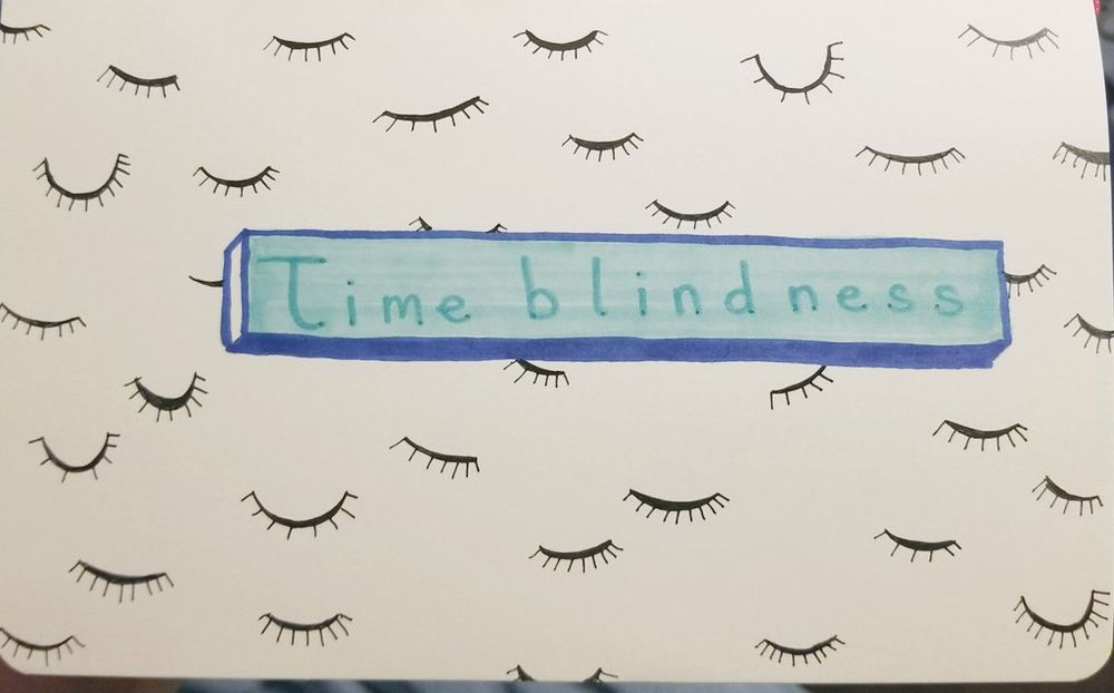 time blindness - image 1 - student project