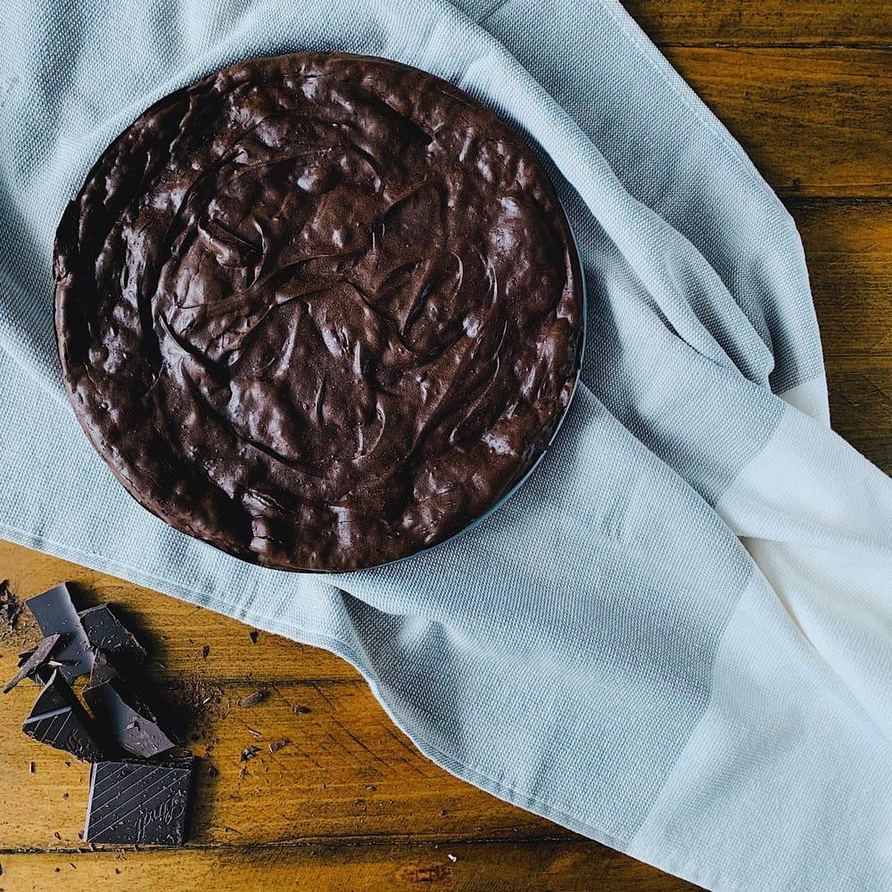 My dark chocolate tart - image 1 - student project