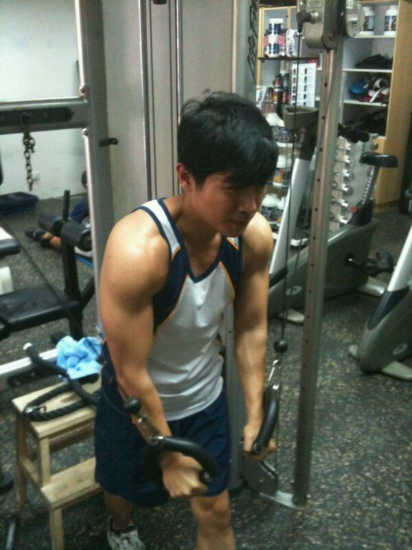Working Out in Gym! Shedding some weight! - image 1 - student project