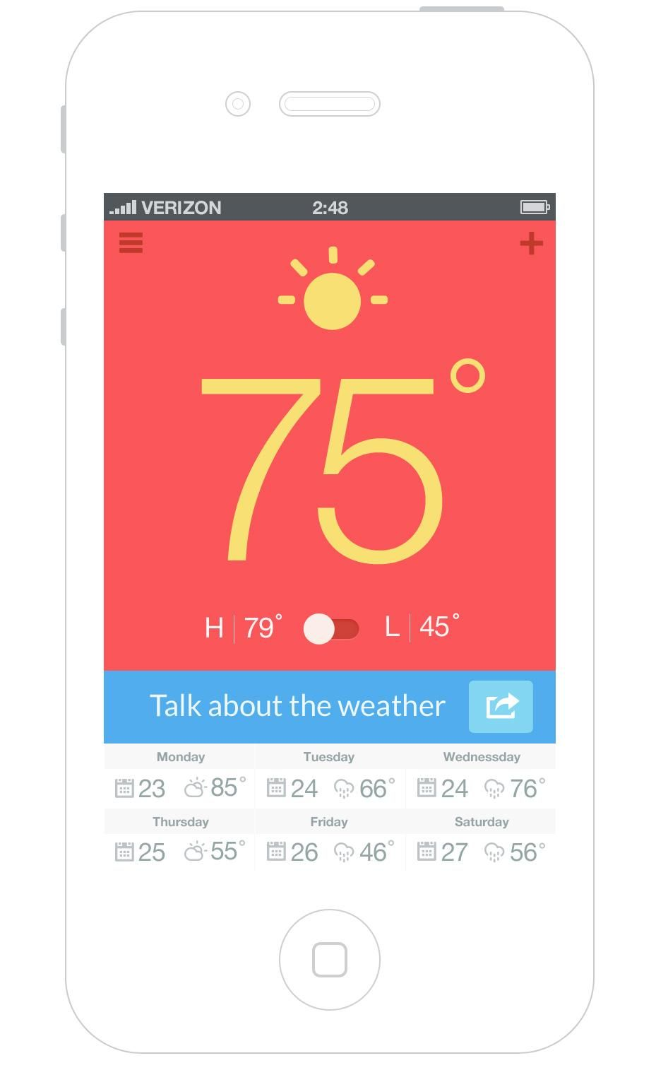 Talk about the weather  - image 1 - student project
