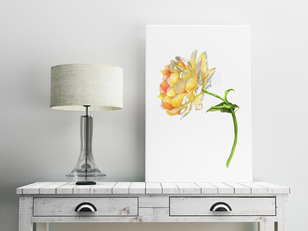 Yellow Rose - image 1 - student project
