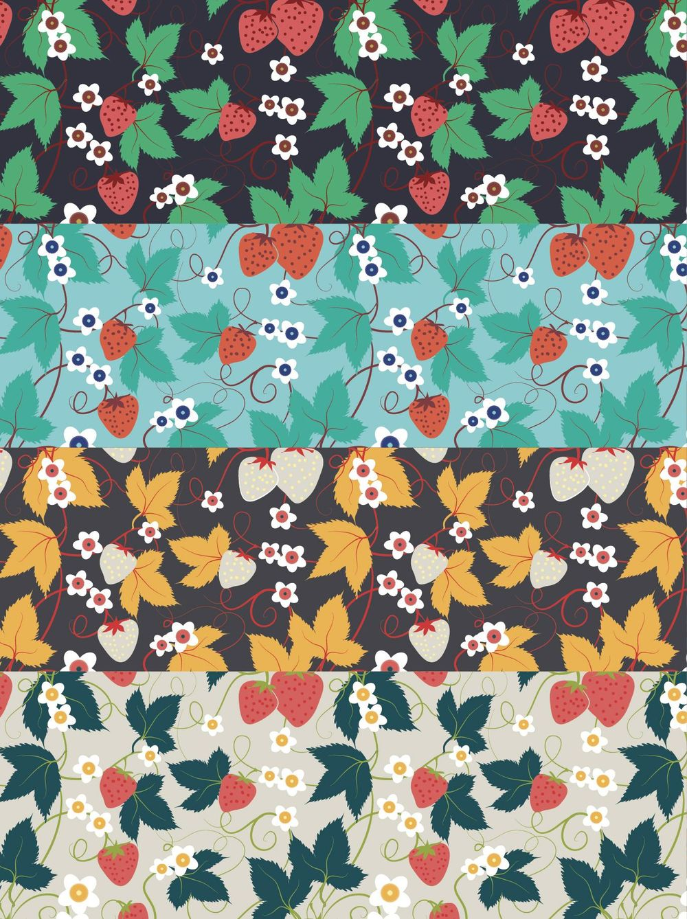 Olivia's Repeat Patterns with Adobe Illustrator - image 5 - student project