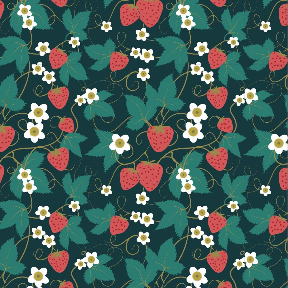 Olivia's Repeat Patterns with Adobe Illustrator - image 2 - student project