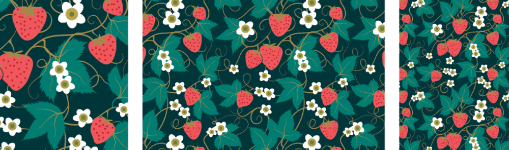 Olivia's Repeat Patterns with Adobe Illustrator - image 4 - student project
