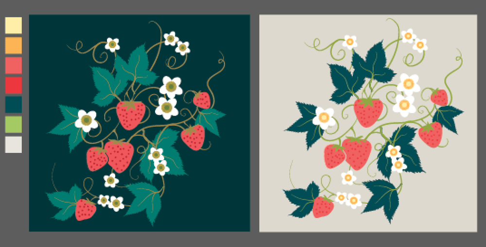 Olivia's Repeat Patterns with Adobe Illustrator - image 3 - student project