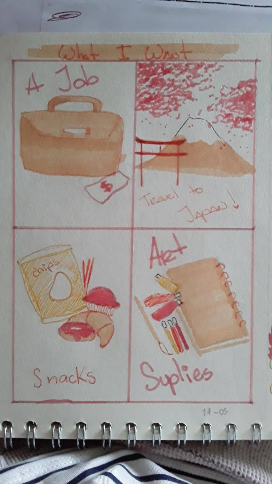 My Visual Journal - image 3 - student project