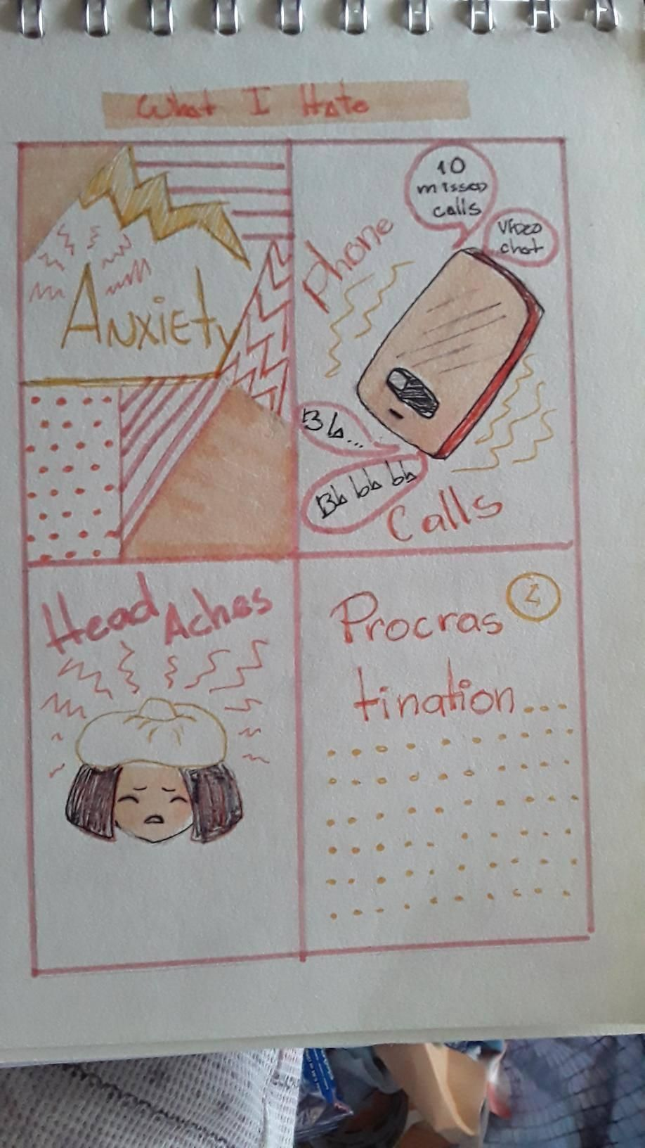 My Visual Journal - image 2 - student project