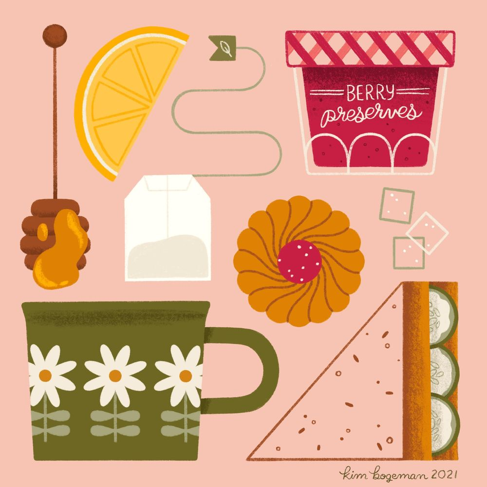 Kim Bogeman - Afternoon Tea - image 10 - student project