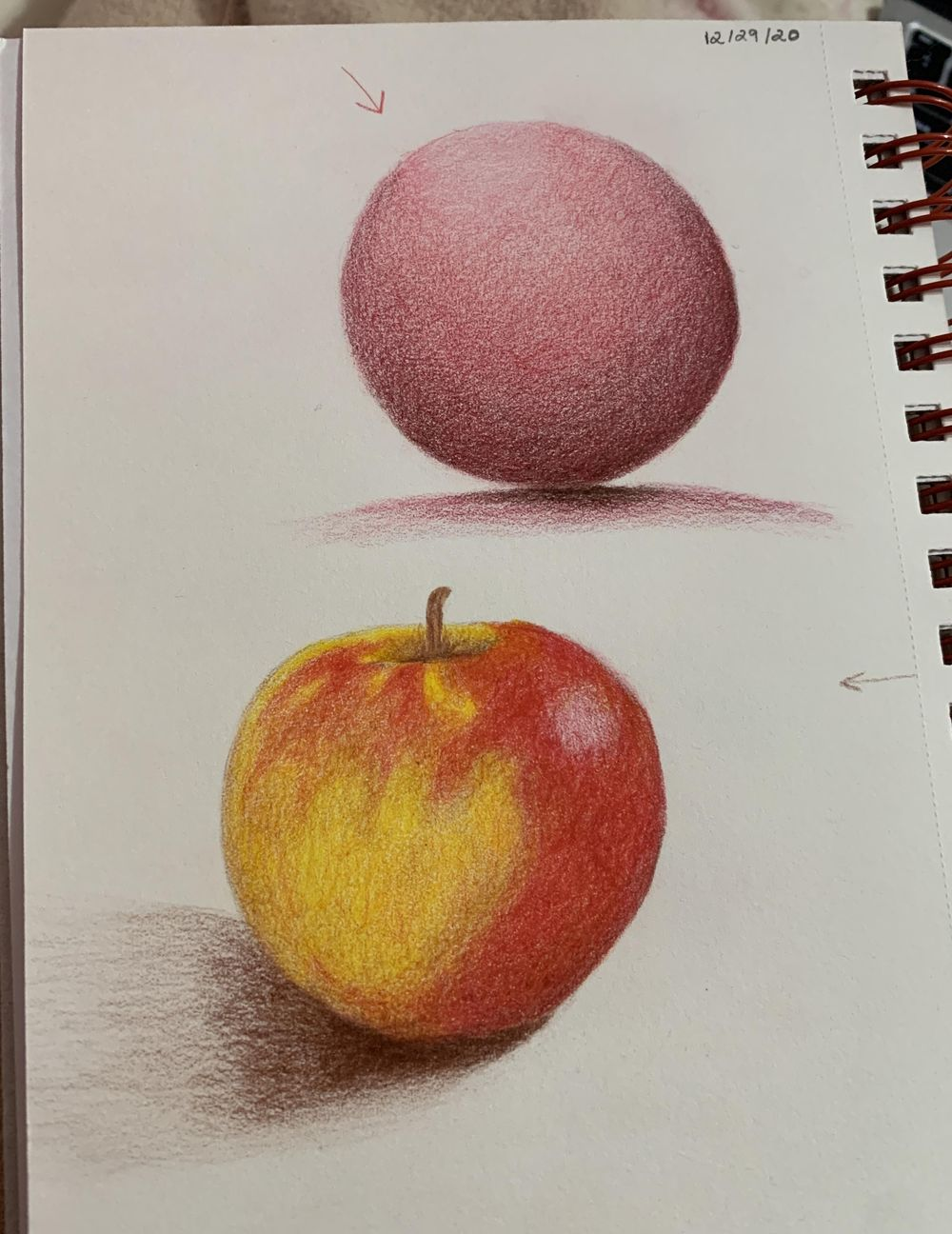 Sphere and Apple - image 2 - student project