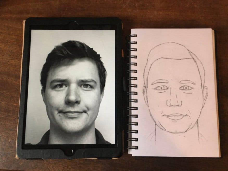 My portrait layout - image 1 - student project