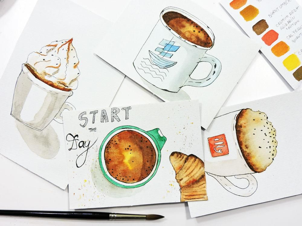 Start The Day Postcard - image 1 - student project