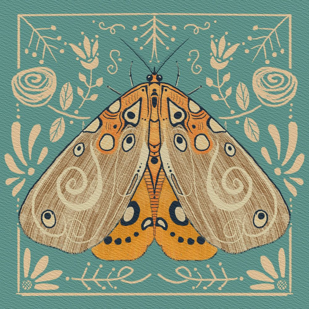 Magical Moths - image 1 - student project