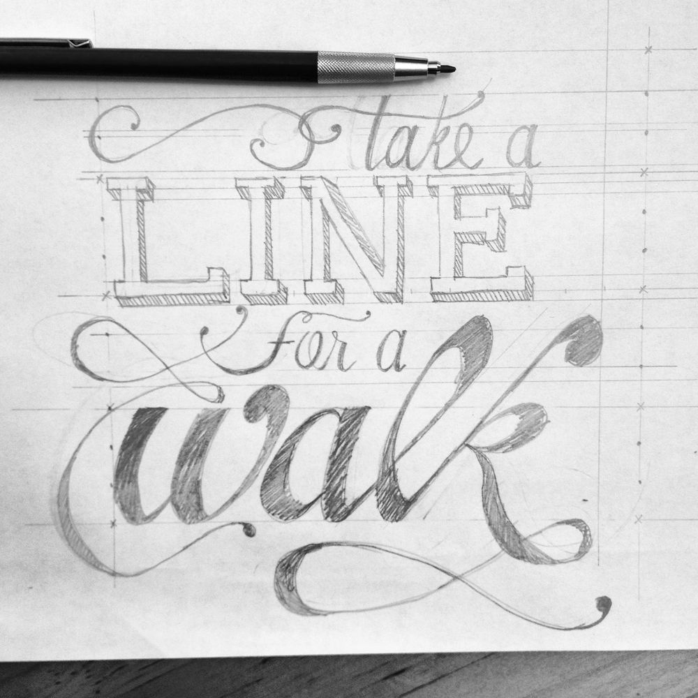 Take a line for a walk - image 1 - student project
