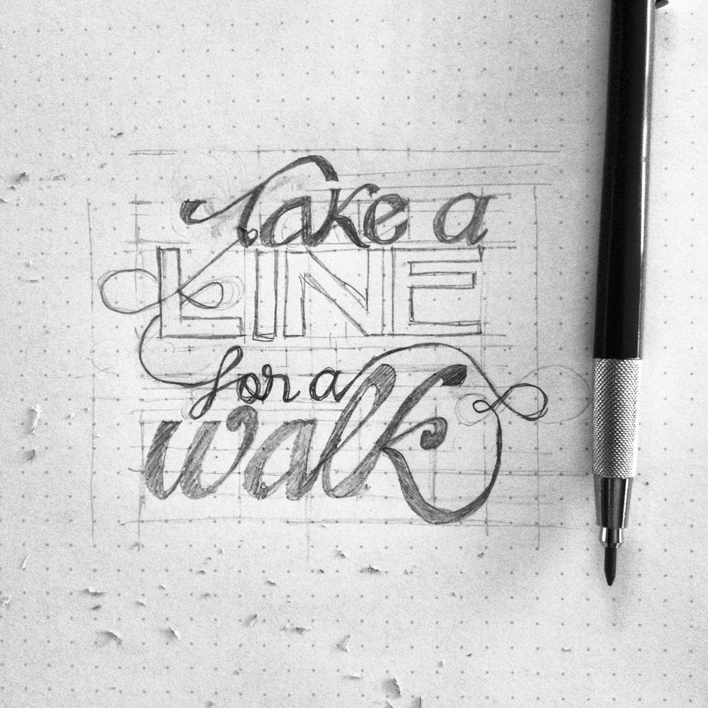 Take a line for a walk - image 2 - student project
