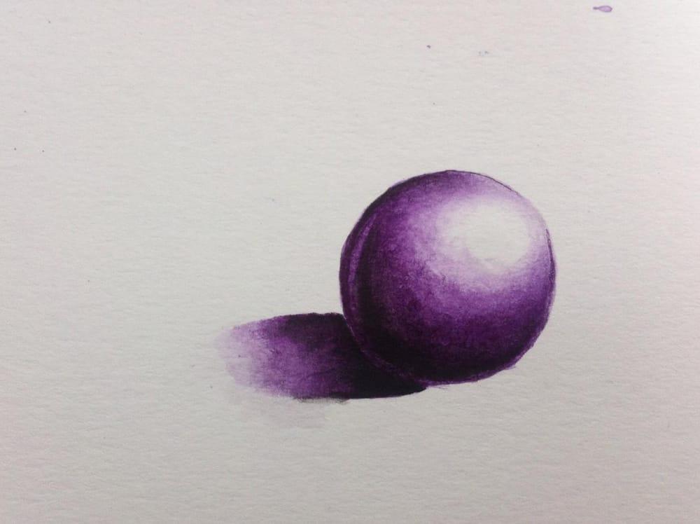 Purple Sphere - image 1 - student project