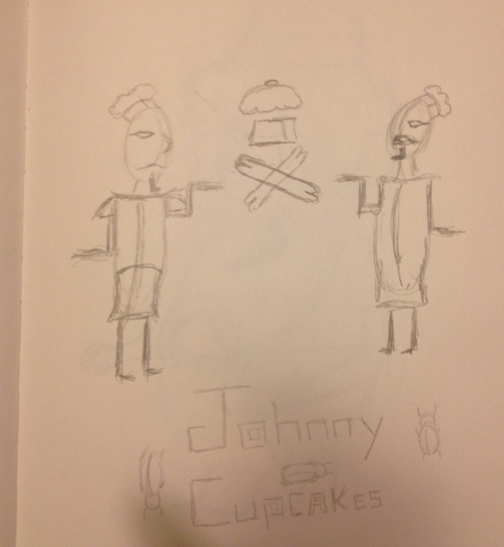 Pharaoh Johnny Cupcakes - image 6 - student project