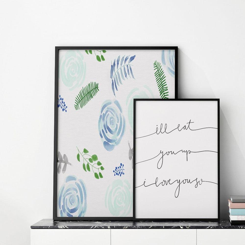 nursery prints mock up - image 1 - student project