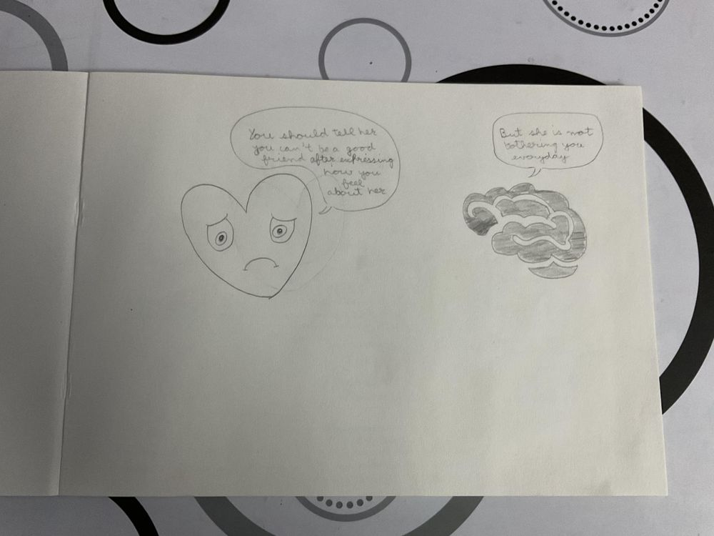 Drawing feelings - image 2 - student project