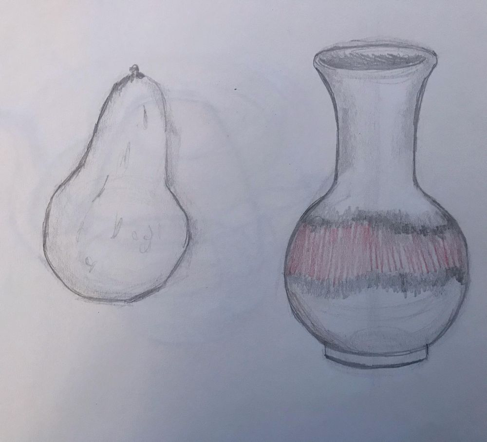 Starting to draw the contours - image 1 - student project