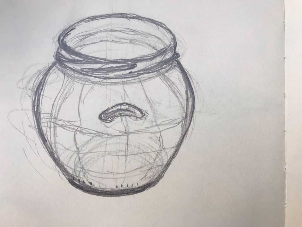 Starting to draw the contours - image 2 - student project