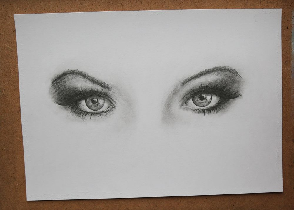Eyes with Pencils - image 1 - student project