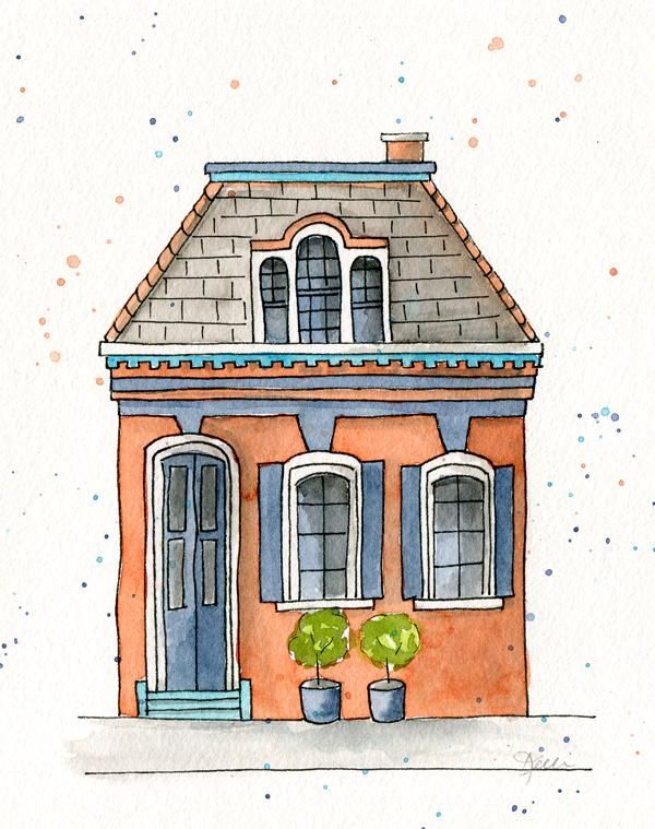 Colorful House - image 1 - student project