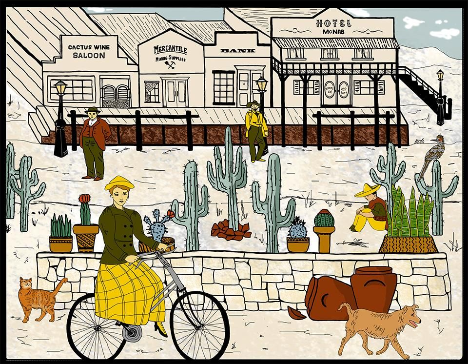 Wild West Cactus Town - image 1 - student project