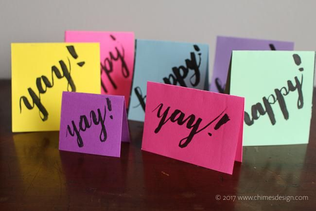 Funky Gift Tags - image 2 - student project