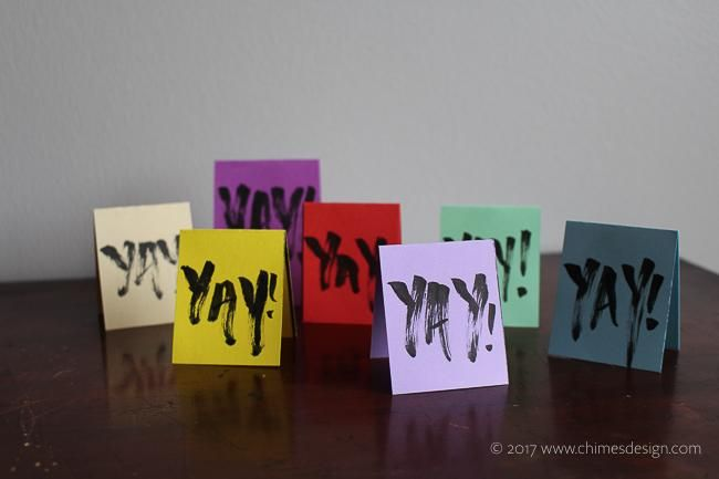 Funky Gift Tags - image 4 - student project