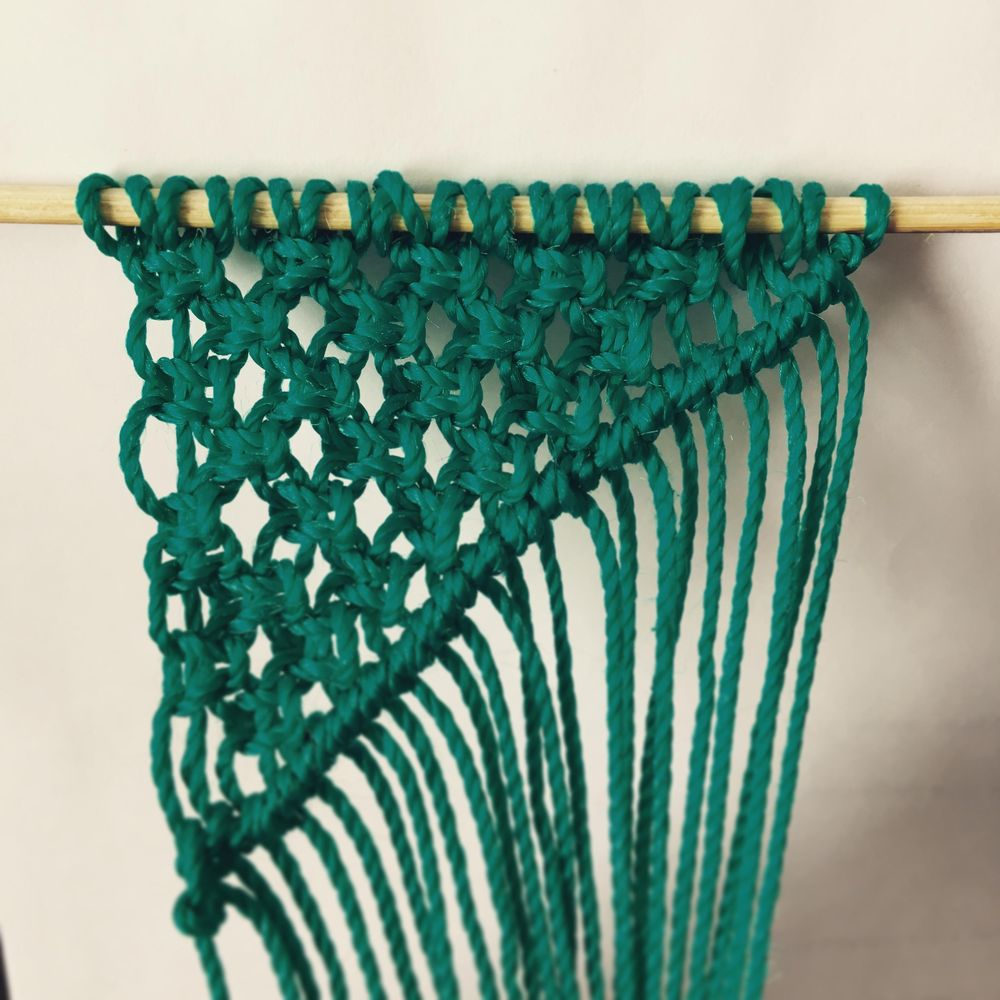 My first Macrame Wall Art! - image 3 - student project