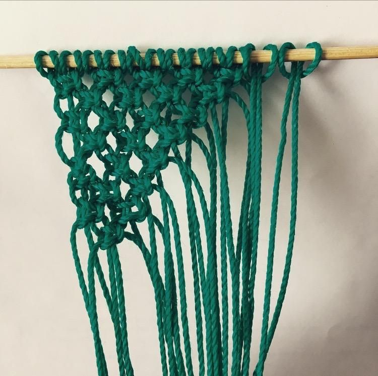 My first Macrame Wall Art! - image 2 - student project