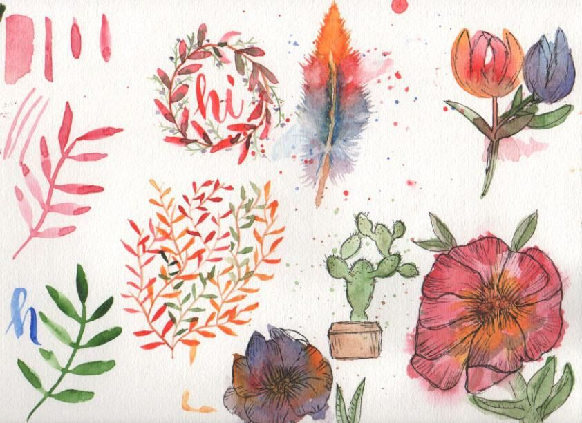 Water Color Fun - image 1 - student project