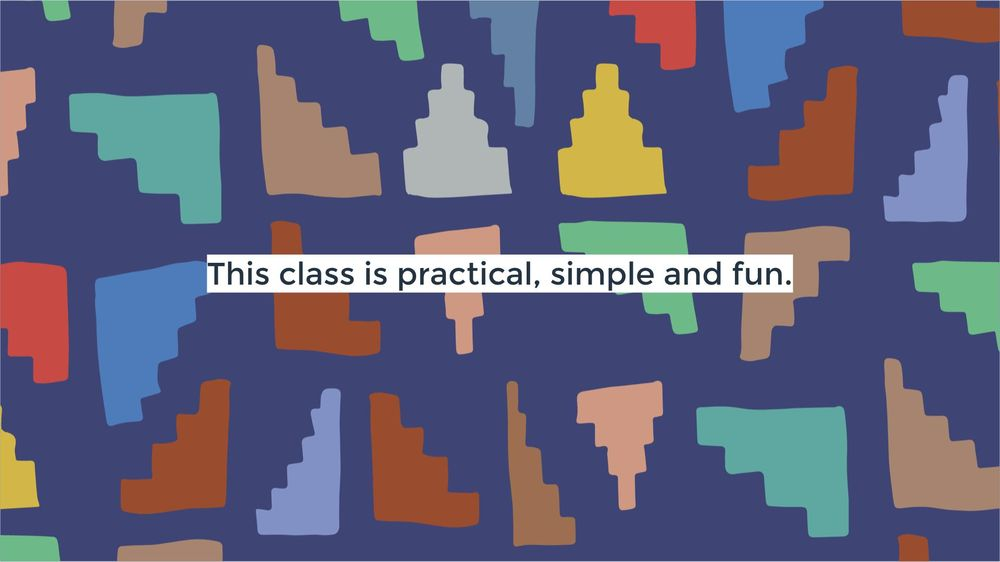 Happy Patterns   Surface Design Pattern - The Fun Way! - image 3 - student project