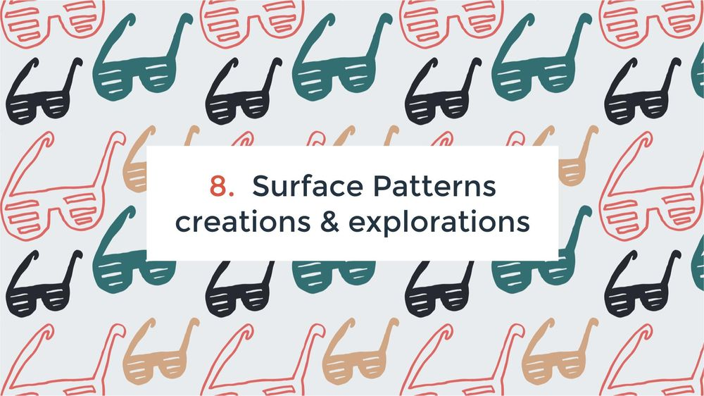 Happy Patterns   Surface Design Pattern - The Fun Way! - image 5 - student project