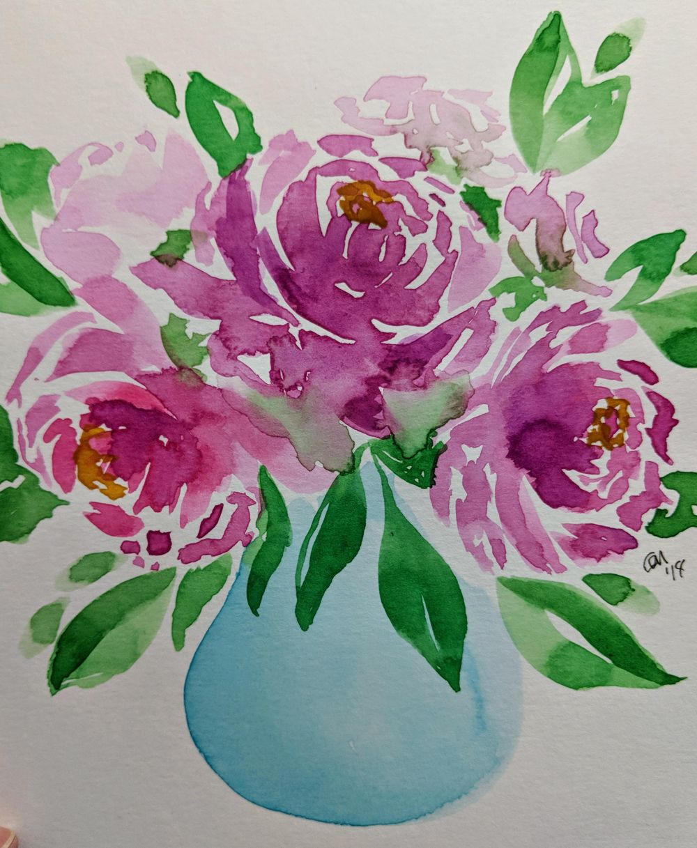 Loose Florals - image 3 - student project