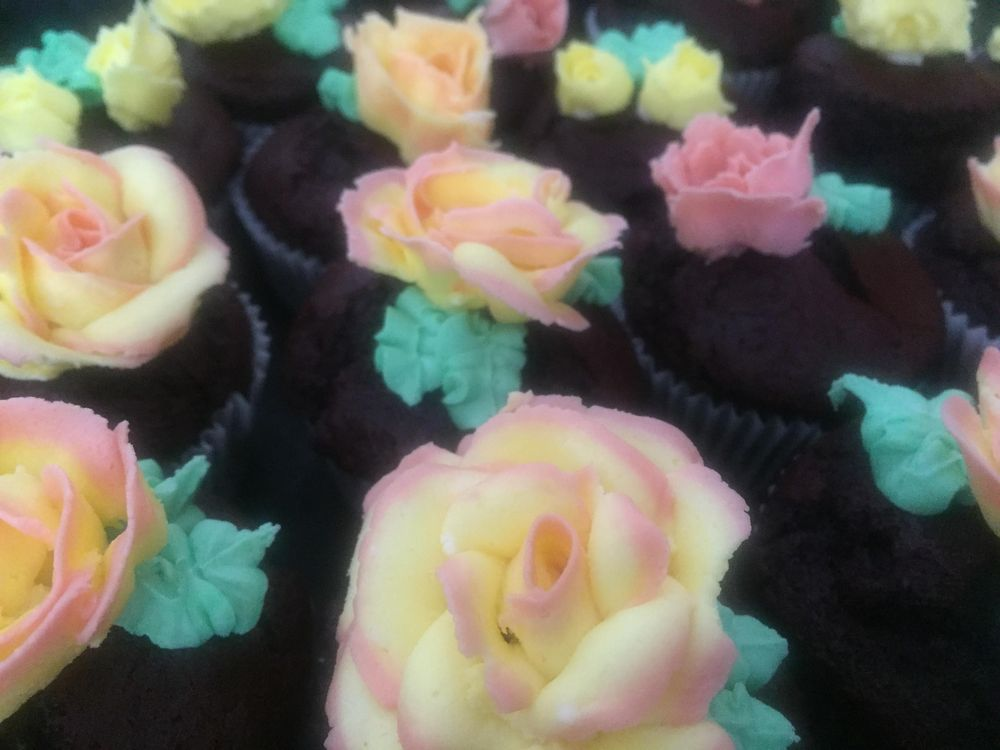 Butter Cream Roses - image 2 - student project