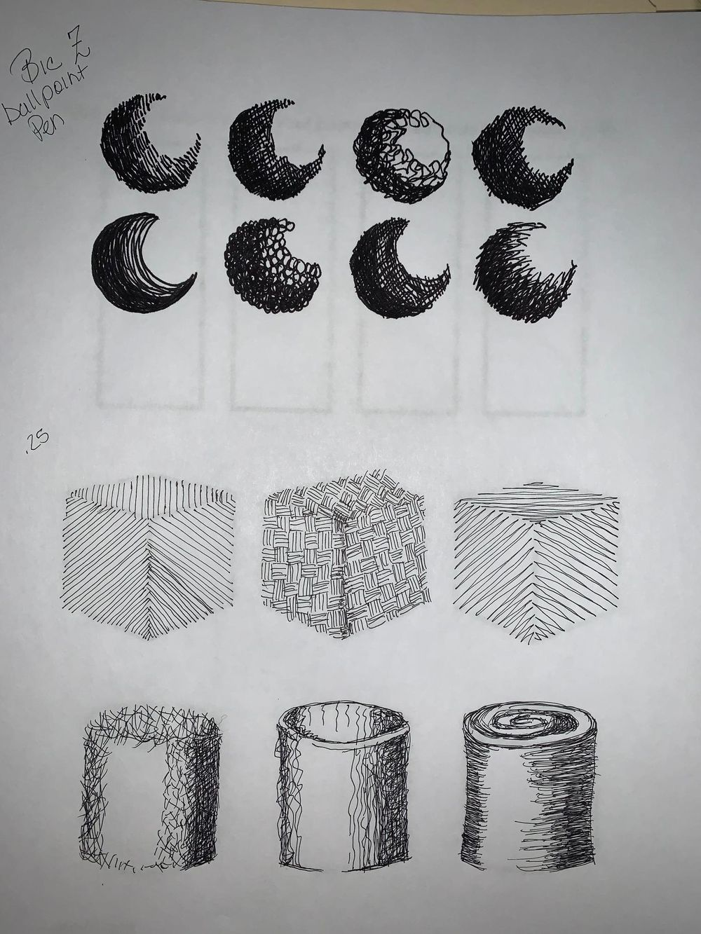 Mark making - image 3 - student project
