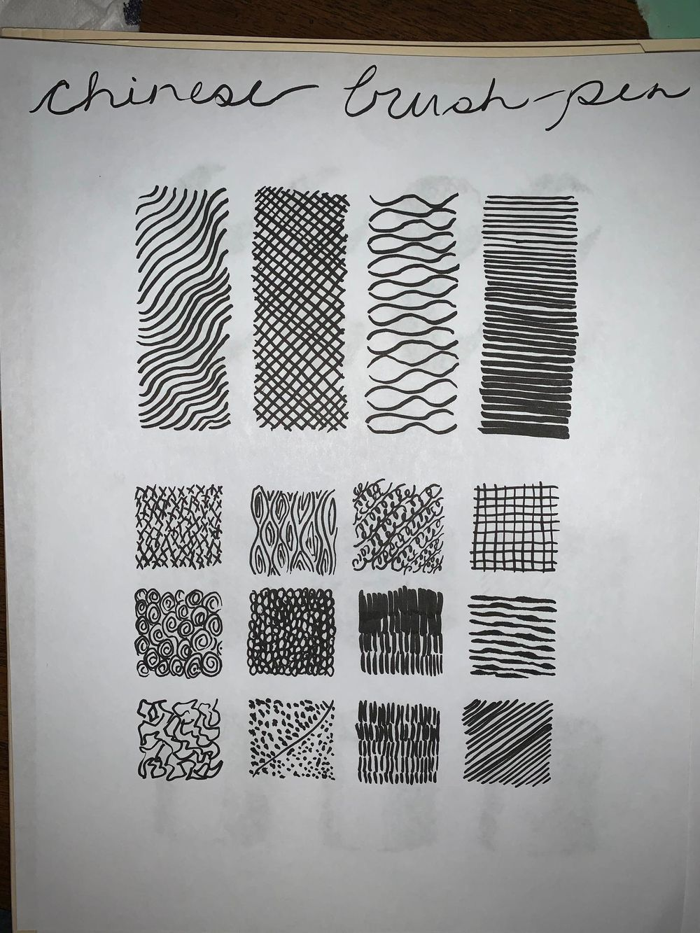 Mark making - image 2 - student project