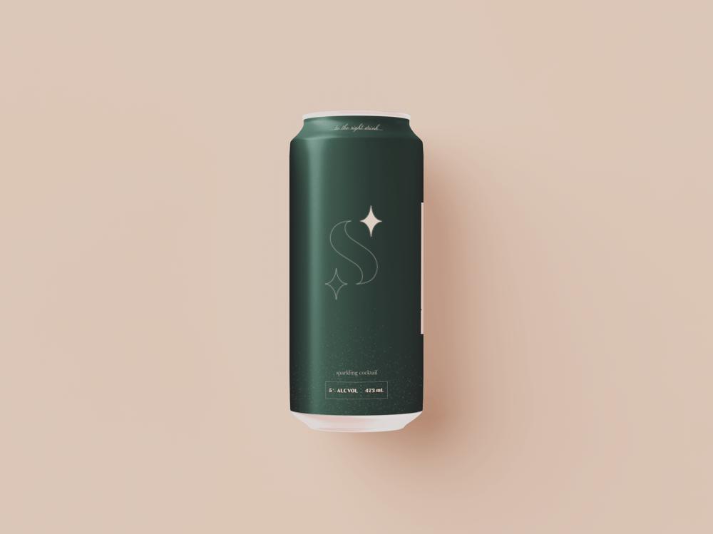 Second Star: Sparkling Cocktail - Beverage Brand - image 1 - student project
