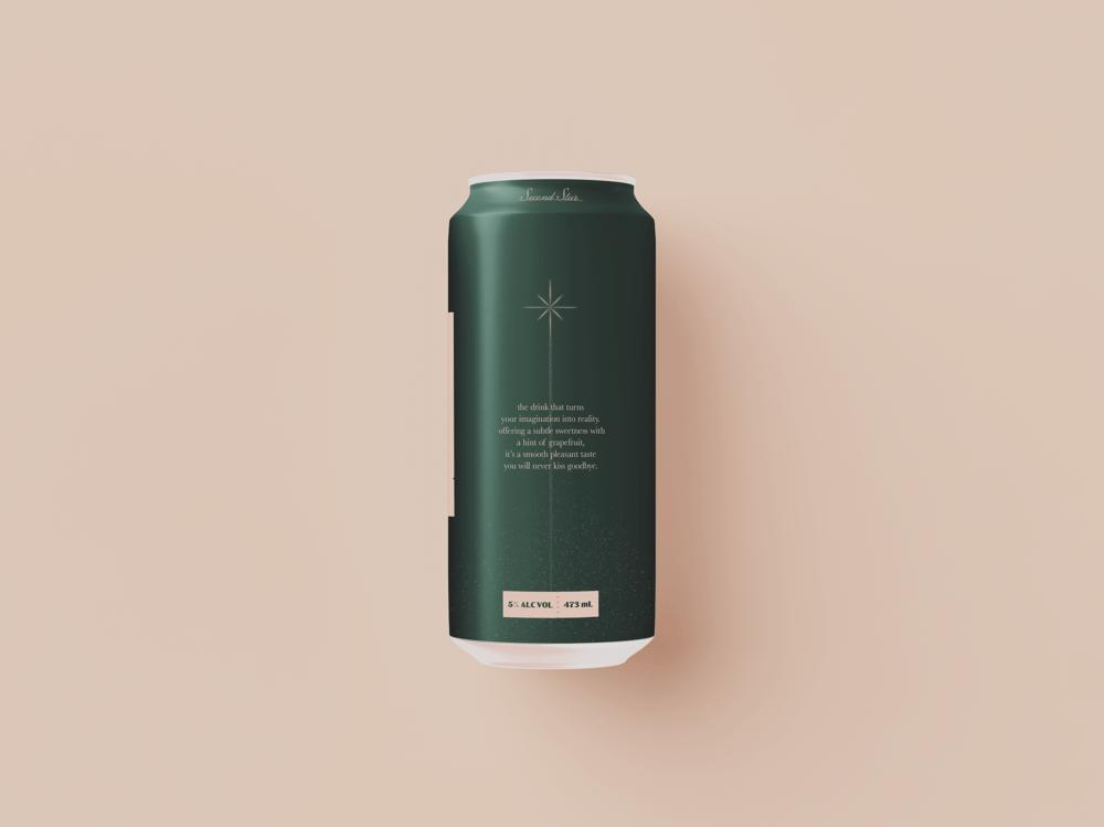 Second Star: Sparkling Cocktail - Beverage Brand - image 2 - student project